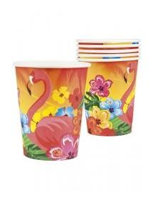 Copos Flamingos Pack 6