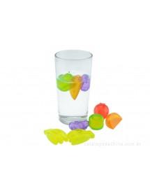 Cubos Gelo ( em forma de frutas ) Pack 24