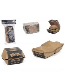 Caixas para Hambúrgueres ( Pack 8 )