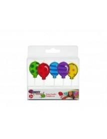Velas Balões ( Pack 5 )