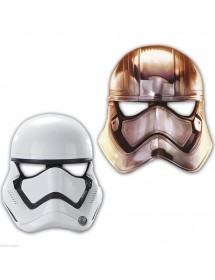 Máscaras Cartão Star Wars Stormtrooper ( Pack 6 )