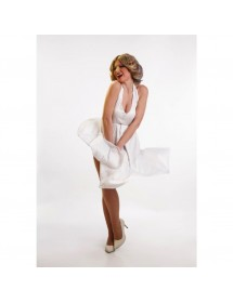 Vestido Branco Manroe