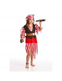 Vestido Criança Pirata