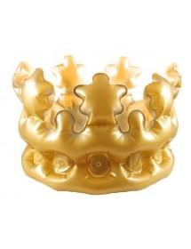 Coroa Dourada Insuflável