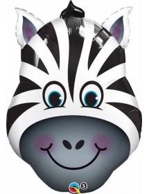 Balão Foil Zebra Qualatex