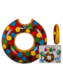 Donut Smarties Insuflável ( 119cm )