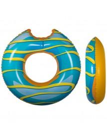 Donut Azul Insuflável ( 119cm )