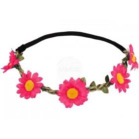 Fita Cabeça C/Flores