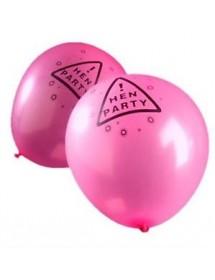 Balões Hen Party Rosa 30cm ( Pack 5 )