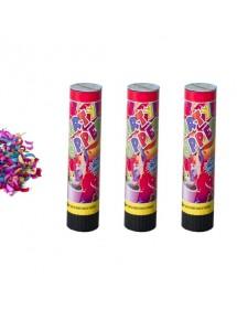 Canhão de Confetis 20cm ( Pack 3 )