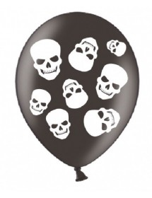 Balões Caveiras ( Pack 6 )