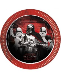 Pratos Star Wars ( The last Jedi ) Pack 8
