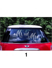 Sticker para Carro Wedding