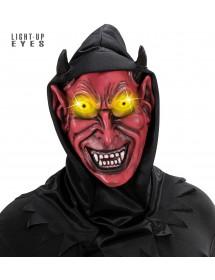 Máscara Diabo ( Olhos LED )