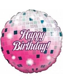 Balão Foil Bola Disco Bday