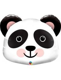Balão Foil Cabeça Panda 79cm