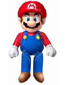 Balão Foil Airwalker Super Mario ( 152cm )