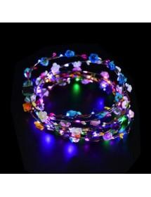 Coroa de Flores LED