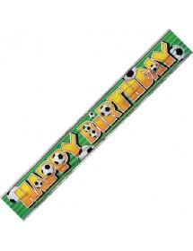 Banner Futebol Happy Birthday ( 3,65m)