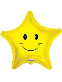 Balão Foil Estrela Sorridente