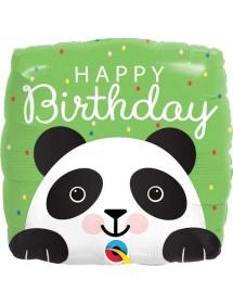 Balão Foil Qualatex Panda Quadrado 46cm