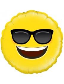 Balão Foil Cool Emoji 45cm