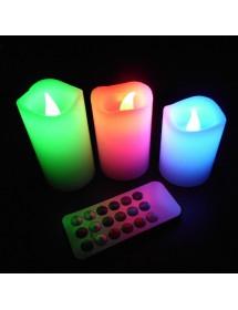 Velas LED C/ Comando
