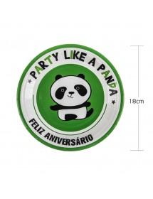 Pratos Panda Pack 6 ( 18 cm )