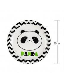 Pratos Panda Pack 6 ( 23 cm )