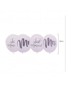 Balões Mr&Mrs e Just Married Pack 5