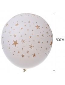 Balões Latex Estrelas ( Pack 5 ) 30cm