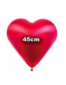 Balão Coração Latex 45cm