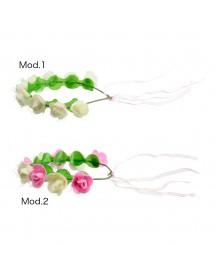 Coroa C/ Rosas ( 2 modelos )