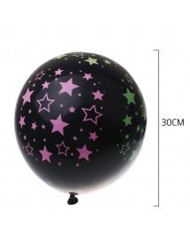 Balões Estrelas Neon ( Pack 4 ) 30cm