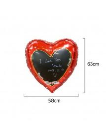 Balão Foil Coração Personalizável
