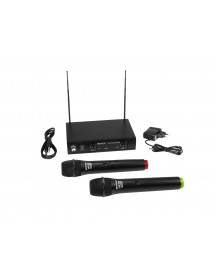 Microfones Wireless VHF-102