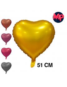 Balão Foil Coração Mate ( 51cm )