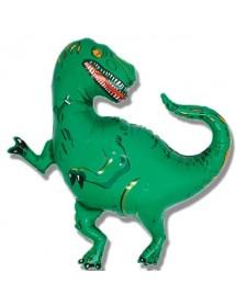 Balão Foil Dinossauro Verde 99cm