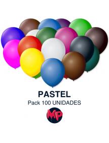 Balões Lisos Latex Pack 100 ( Belbal ) 27cm
