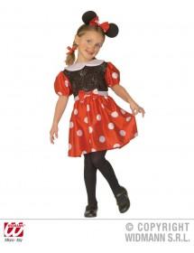 Vestido Ratinha (c/ orelhas)
