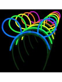 Orelhas Coelho Glow (6 unidades)