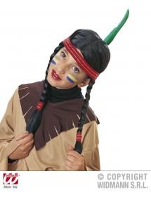 Peruca Índio Criança