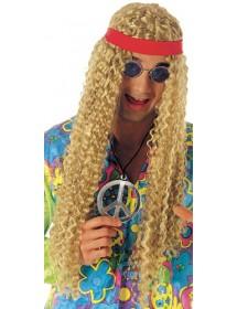 Peruca Hippie c/ Fita