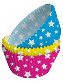 75 Formas Cupcakes Estrelas