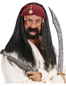 Peruca Pirata Homem