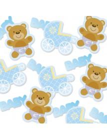 Confetis Baby Azul